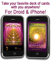 oracle cards for iphone and droid